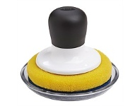 Briscoes NZ OXO Non-Scratch Scrubber With Tray