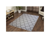 LivingStyles Sweden No.468 Handwoven Wool Rug in Natural - 110x160cm