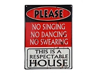 Living & Giving Respectable House Wall Plaque 40x30cm