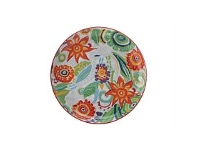 Living & Giving Christopher Vine Gypsy Side Plate Red 18.5CM